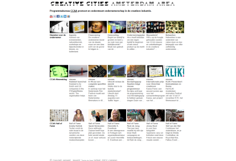 Portal website: one-stop shop for the creative industries