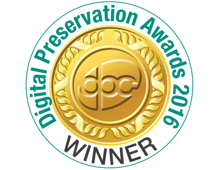 Digital Preservation Award 2016